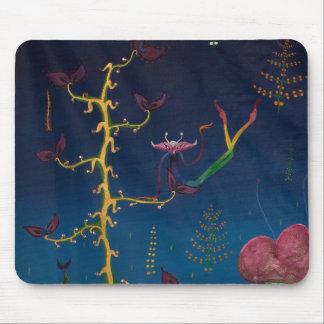 rainbow alien mouse-pad mouse pad