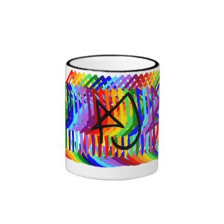 Rainbow Aly Jayne drinking apparatus Mug