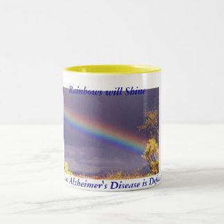Rainbow Alzheimer s Mug