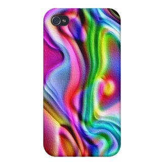 Rainbow Amoeba iPhone 4 Cover