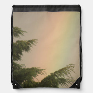 Rainbow and Trees Backpack