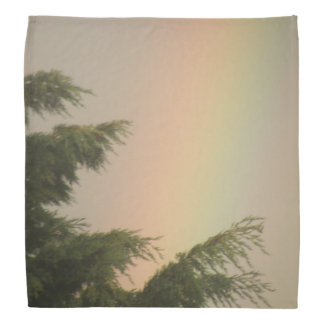 Rainbow and Trees Bandana