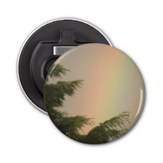 Rainbow and Trees Bottle Opener
