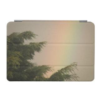Rainbow and Trees iPad Mini Cover