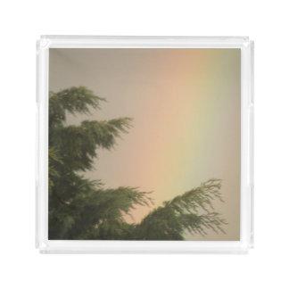 Rainbow and Trees Perfume Tray