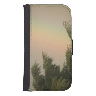 Rainbow and Trees Samsung Wallet Case