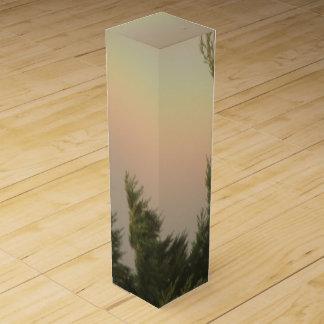 Rainbow and Trees Wine Gift Box