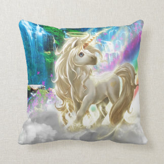 Rainbow And Unicorn Cushion