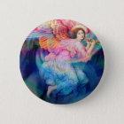 Rainbow Angel 6 Cm Round Badge