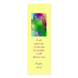 Rainbow Angel Book Marker Pack Of Skinny Business Cards