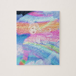 Rainbow Angel Jigsaw Puzzle