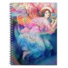 Rainbow Angel Notebook
