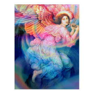 Rainbow Angel Postcard