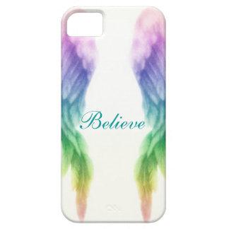 Rainbow Angel Wings iPhone 5 Cases