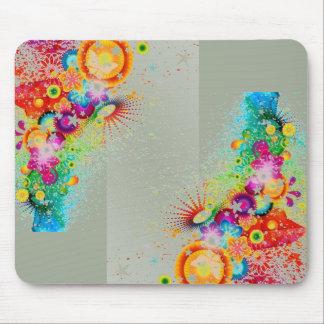 Rainbow Animated Nature Scene Mouse-pad Mouse Pad