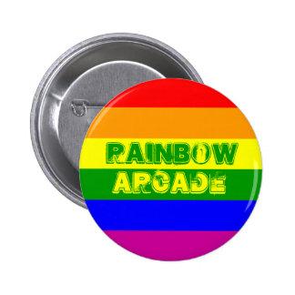 Rainbow Arcade Button