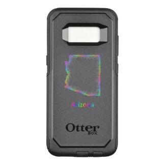 Rainbow Arizona map OtterBox Commuter Samsung Galaxy S8 Case