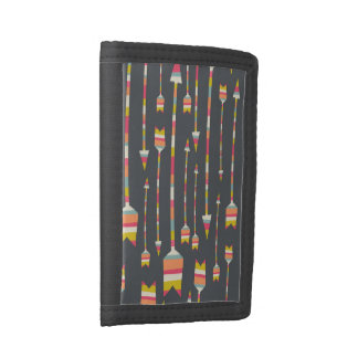 Rainbow Arrows Pattern Tri-fold Wallet