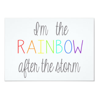 Rainbow Baby Card *Personalise*