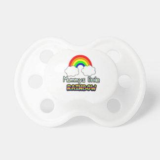Rainbow baby dummy