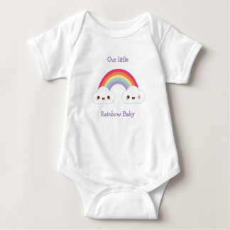 Rainbow Baby Short Sleeve Bodysuit Vest