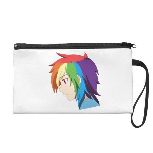 rainbow wristlet purses
