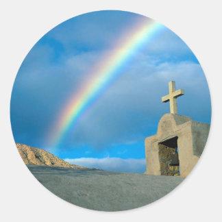 Rainbow Bahia De Los Angeles Mexico Sticker