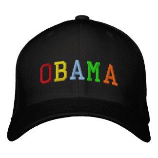 Rainbow Barack Obama Embroidered Hat