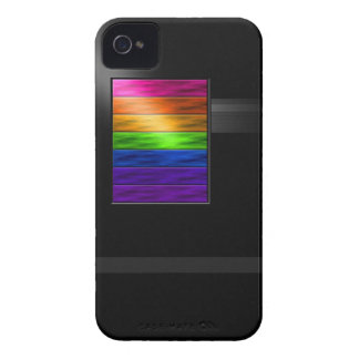 Rainbow Bars BarelyThere iPhone 4 Case