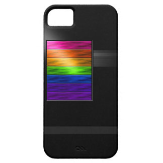 Rainbow Bars iPhone 5 Case