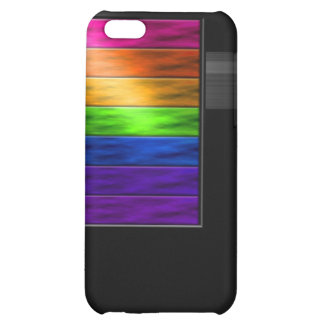 Rainbow Bars iPhone 5C Cover