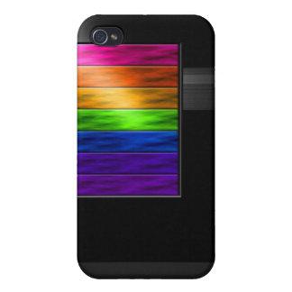 Rainbow Bars iPhone 4/4S Cases