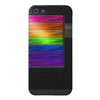 Rainbow Bars Cases For iPhone 5