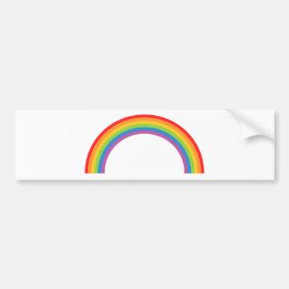 Rainbow-Basic Bumper Sticker