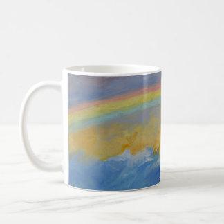 Rainbow Basic White Mug
