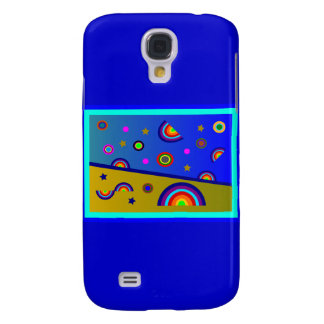 Rainbow Beach At Night--Abstract Galaxy S4 Case