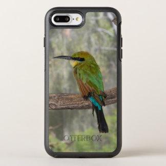 Rainbow bee-eater bird, Australia OtterBox Symmetry iPhone 8 Plus/7 Plus Case