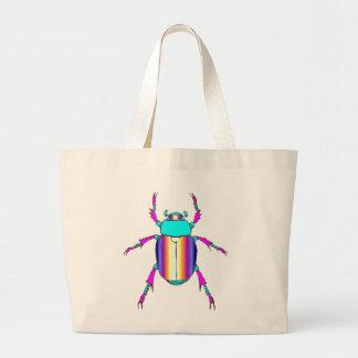 Rainbow Beetle Jumbo Tote Bag