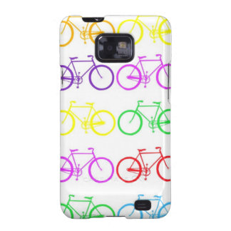 Rainbow Bicycles Samsung Galaxy S2 Cases