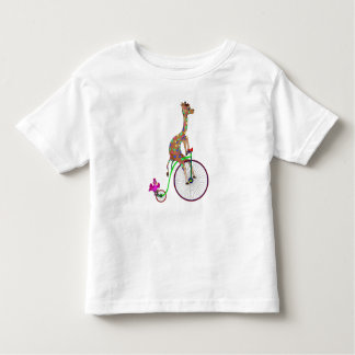 Rainbow Bicycling by The Happy Juul Company Toddler T-Shirt