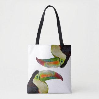 Rainbow-Billed Toucan All Over Print Bag