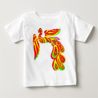 Rainbow Bird Baby T-Shirt