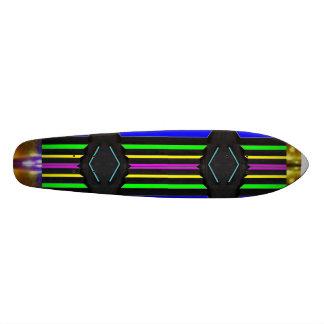RAINBOW Black Diamond BlackDiamond SUPERcharged Custom Skate Board