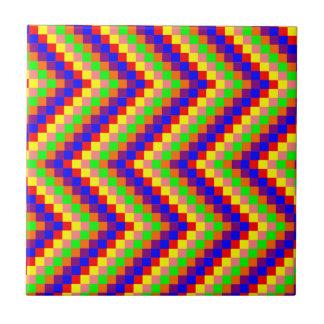 Rainbow blocks tile