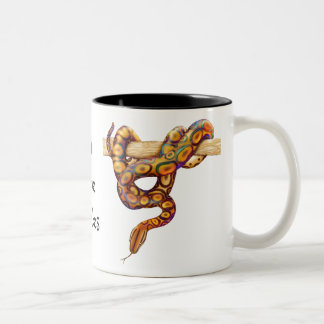 Rainbow Boa Snake Customizable Mug