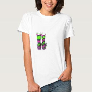 Rainbow Boots T Shirts