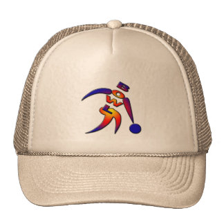 RAINBOW BOWLER HAT