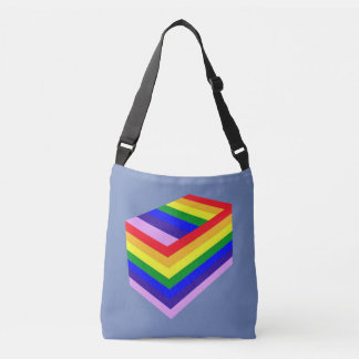 rainbow box pride  All-Over-Print Cross Body Bag