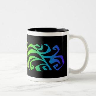 rainbow branch coffee mugs