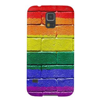 Rainbow Brick Wall Case For Galaxy S5